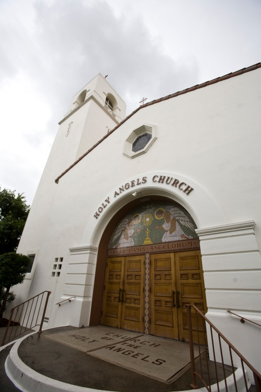Holy Angels Catholic Church, Arcadia, CA